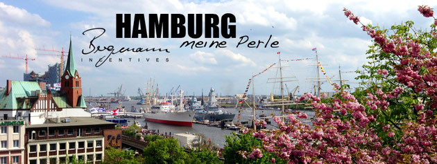 Hamburg harbour shipping