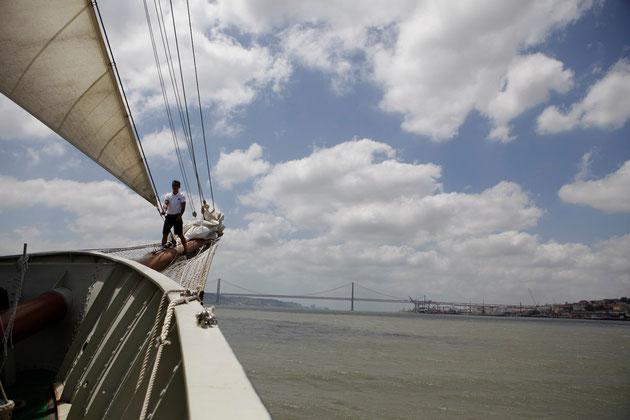 Segeltour durch Lissabon