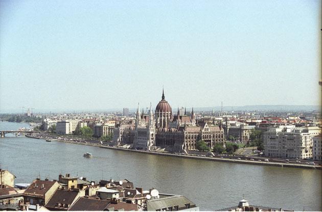 Budapest - Blick aufs Parlament
