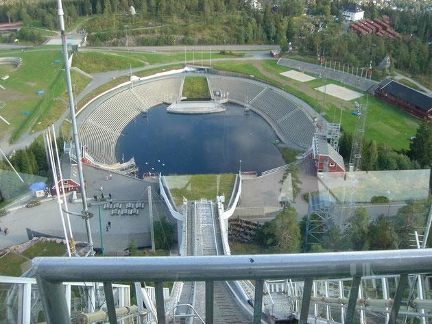 Oslo - Skisprungschanze Holmenkollen