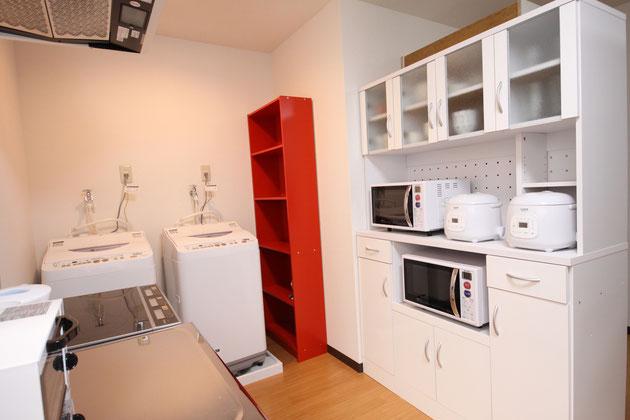 廚房、洗衣機