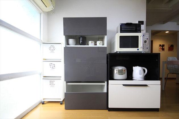 キッチン家電・食器棚