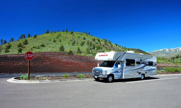 Der C30 von Wohnmobil-Vermieter El Monte.
