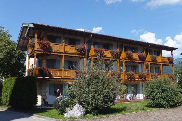 Hoteleingang Herrenhaus