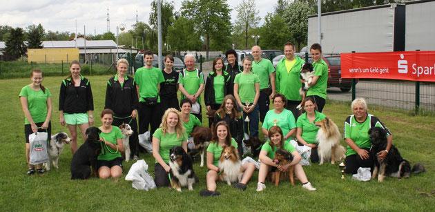 LuHu - THS - Team am 09. Mai 2013 beim VdH Philippsburg