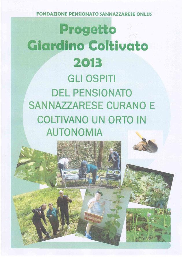 Progetto Giardino Coltivato 2013
