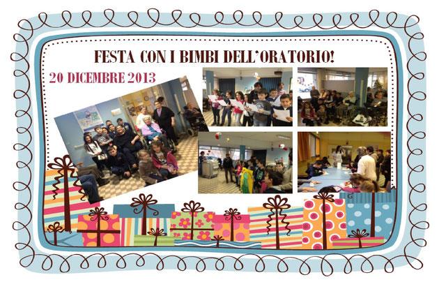 Festa con i bimbi dell'oratorio - 20 dicembre 2013