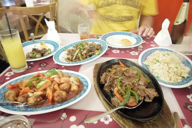 どれも熱々で美味しいと言える料理だった。