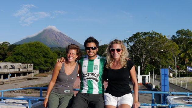 on the ferry from Isla Ometepe, Nicaragua (click to zoom)