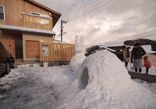 「小木土家」冬の風景