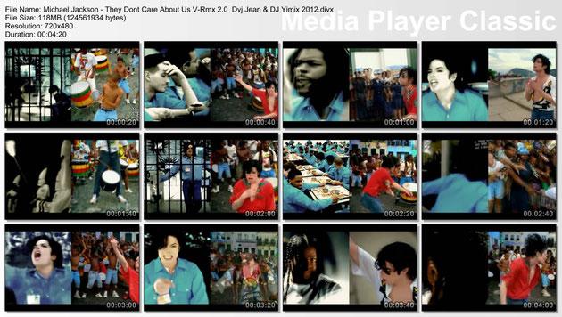 19-Michael Jackson – They Dont Care About Us V-Rmx 2.0 Dvj Jean & DJ Yimix 2012.divx