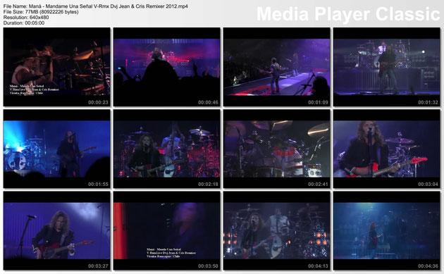 Maná - Mándame Una Señal V-Rmx Dvj Jean & Cris Remixer 2012.mp4