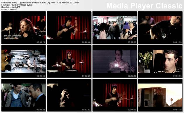 Maná - Ojala Pudiera Borrarte V-Rmx Dvj Jean & Cris Remixer 2012.mp4