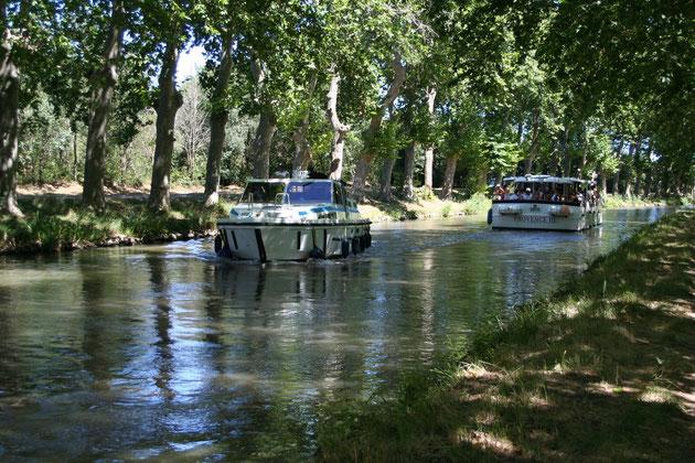 Ballade en péniche sur le Canal du Midi