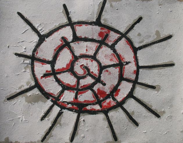 Stachelspirale 2012 Heidi Esch