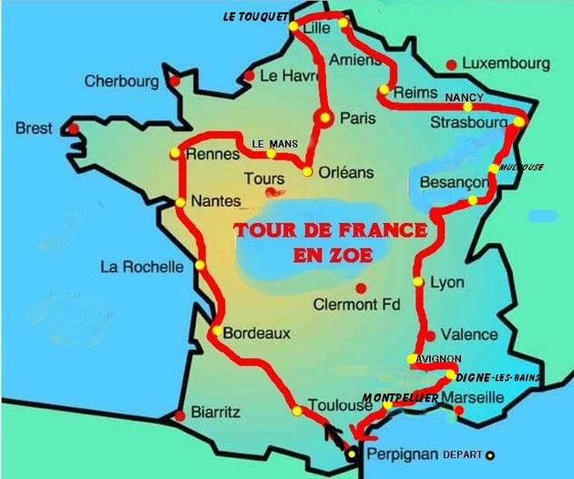 *TOUR DE FRANCE AVEC ZOE PAR BOB66 14-30 Oct 2013 Image