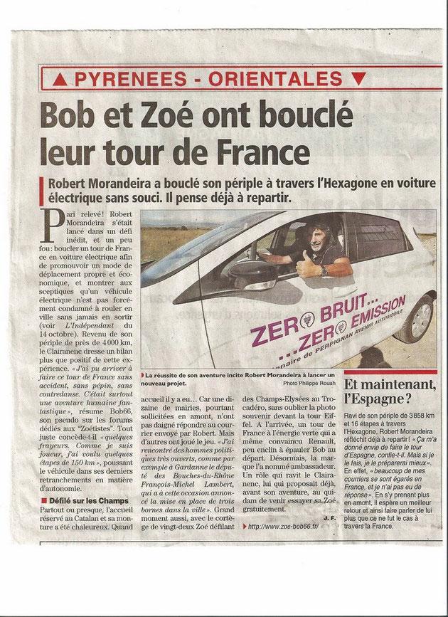 Tour de France en Zoé du 14 au 30 octobre 2013: Comptes rendus  - Page 2 Image