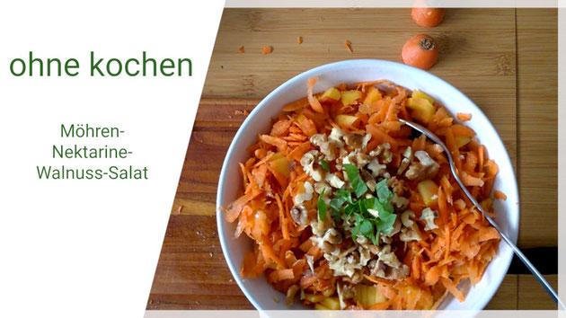 Beatrice Winkel - Möhren-Nektarinen-Salat