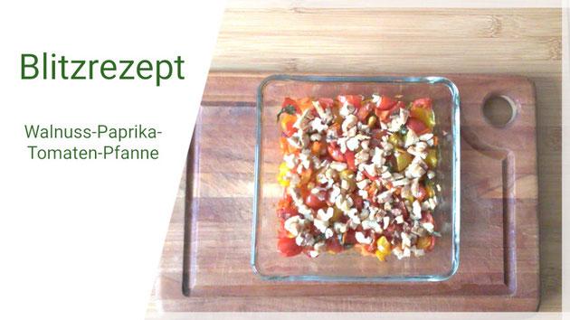 Beatrice Winkel - Ofengemüse | Paprika Tomate Walnuss