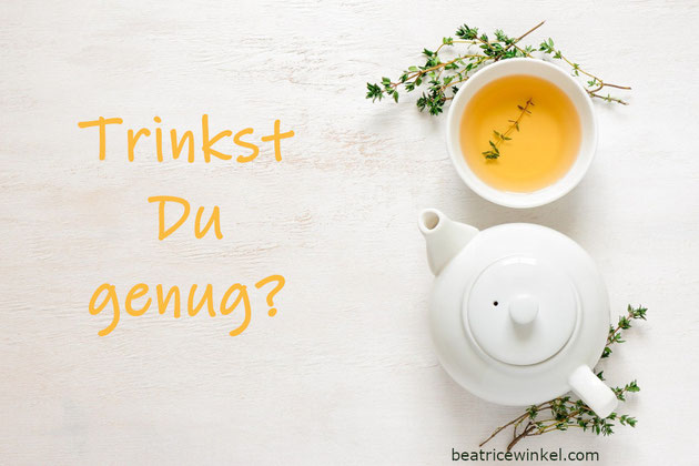 Beatrice Winkel - Denke daran zu trinken!
