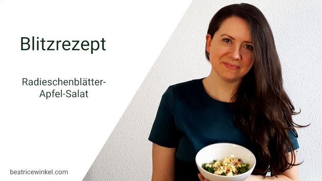 Beatrice Winkel - Radieschenblätter-Apfel-Salat