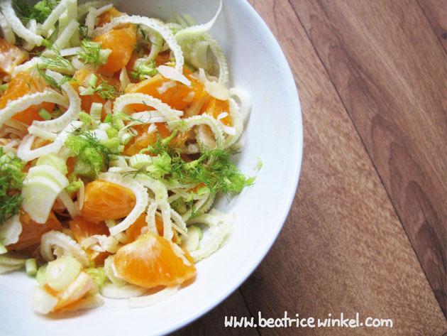 Beatrice Winkel - Fenchel-Mandarinen-Salat