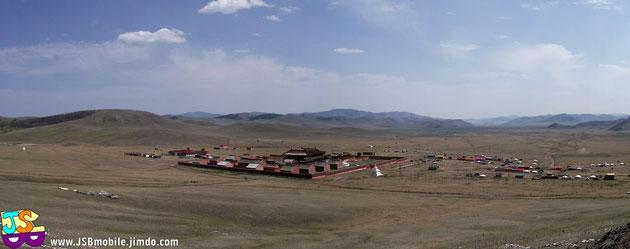 Le monastère d'Amarbayasgalant Khiid