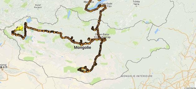 Notre petit périple en Mongolie touche à sa fin après 24 jours...