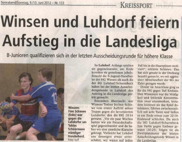 MB Landesligarelegation am 02.03.2012
