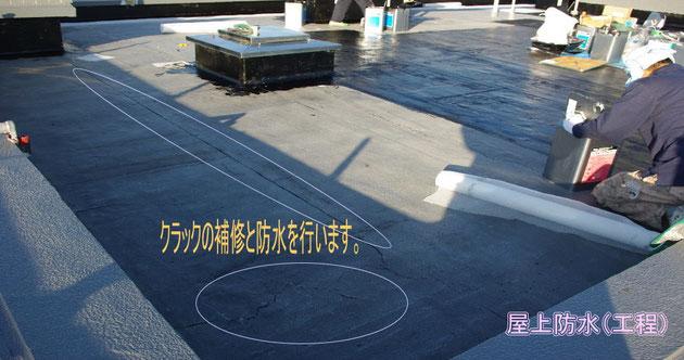 マンション防水工事(屋上)