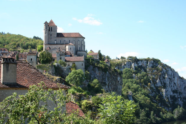 saint cirq lapopie village préféré des français dans le Lot Quercy