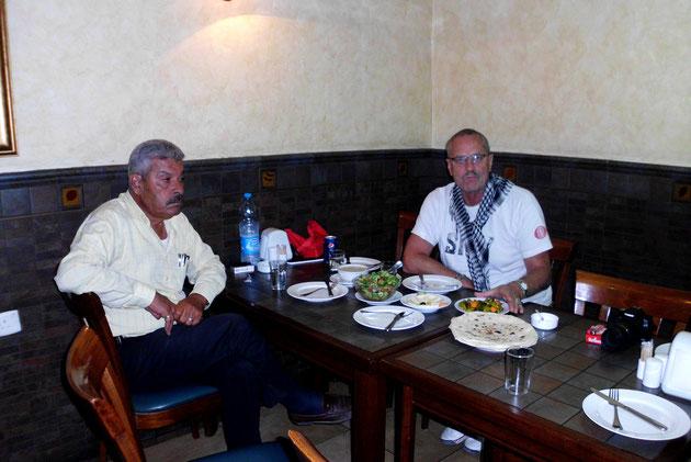 Abendessen in Amman.
