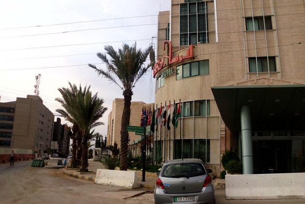 Unser 2.-tes Hotel in Amman-Larsa.