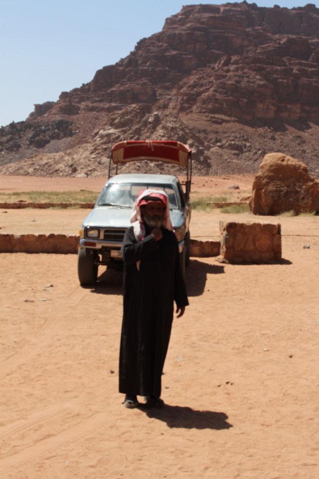 Unser beduinischer Wüstenpilot.
