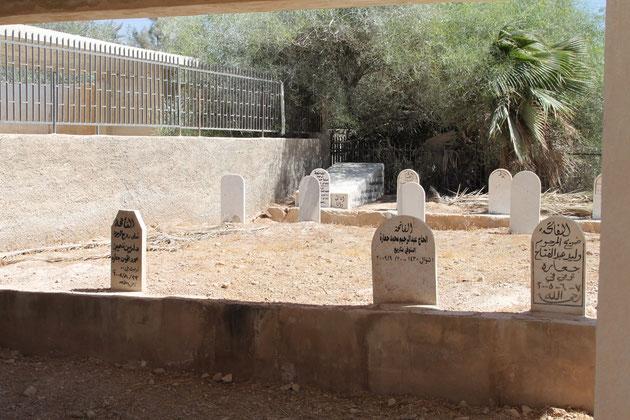Jordanischer Friedhof.