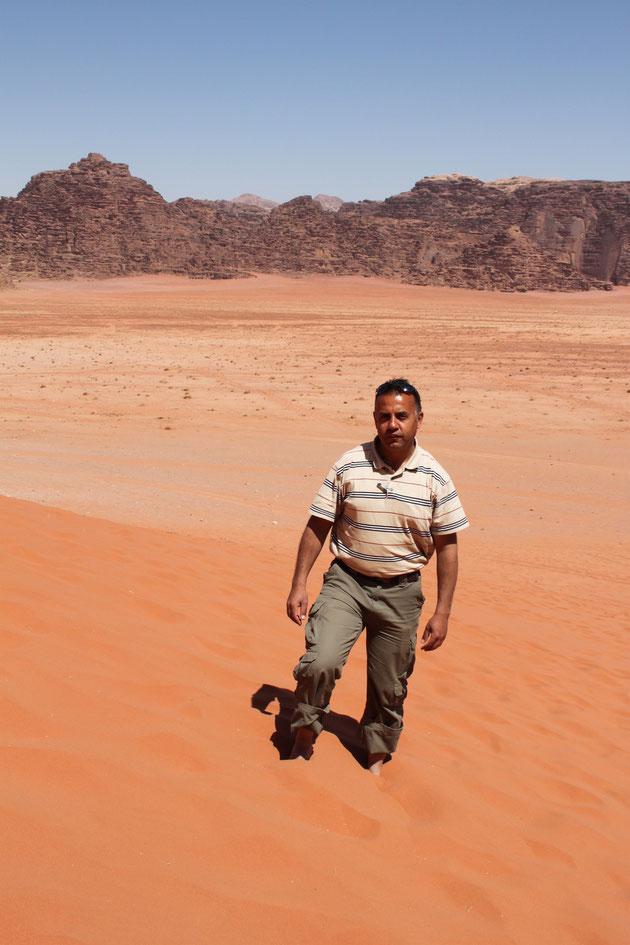Unser Freund Wael.