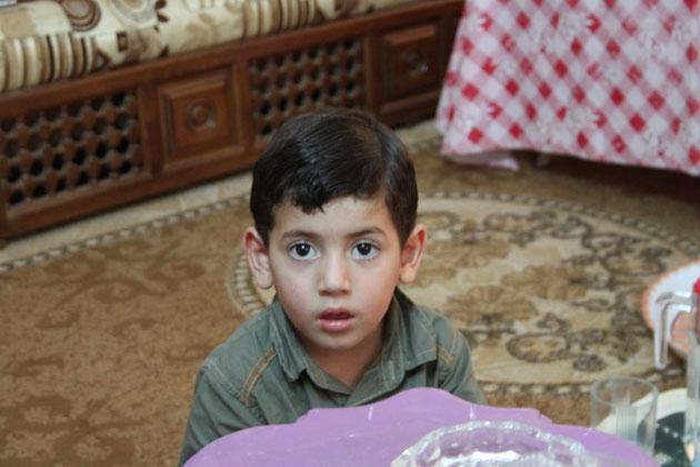 Ein kleiner Neffe von Wael.