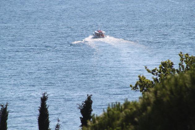 Wassertaxi nach Dubrovnik.