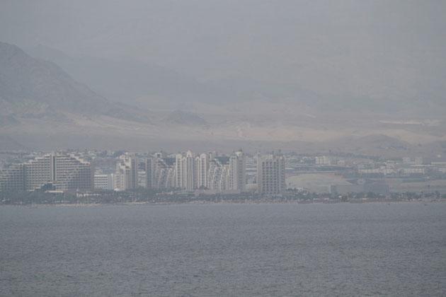 Die israelische Stadt Elat.