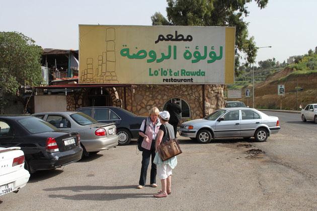 Das Restaurant heißt übersetzt  Diamantenparadies.