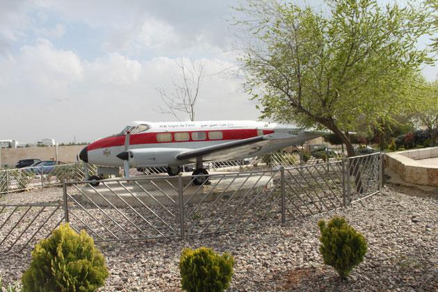 Flugzeug von Hussein, der ja selbst Pilot war.