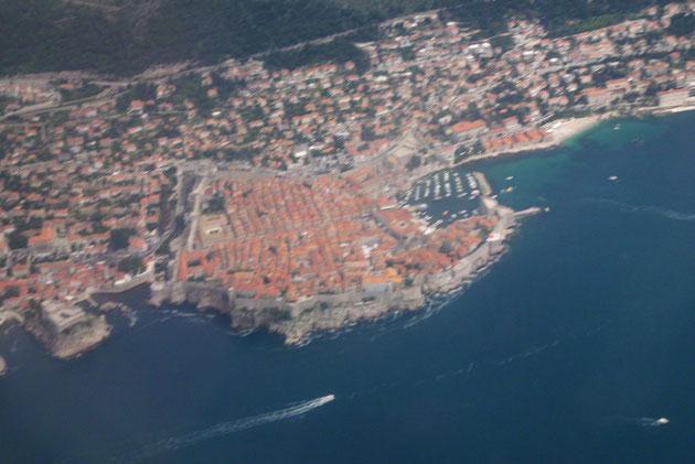 Die Altstadt von Dubrovnik.