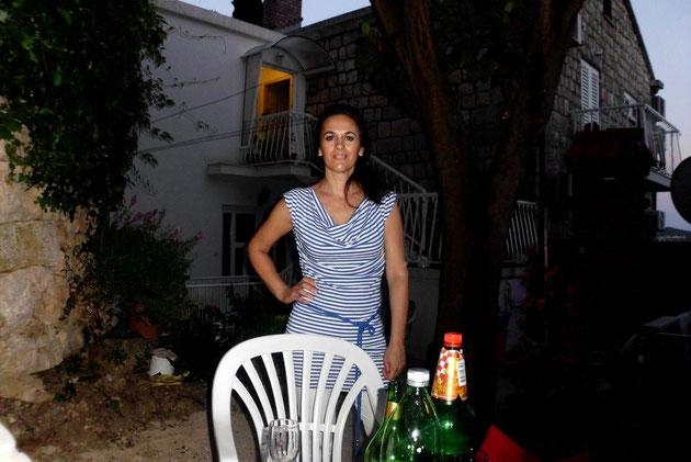 Paulina, eine kroatische Schönheit.