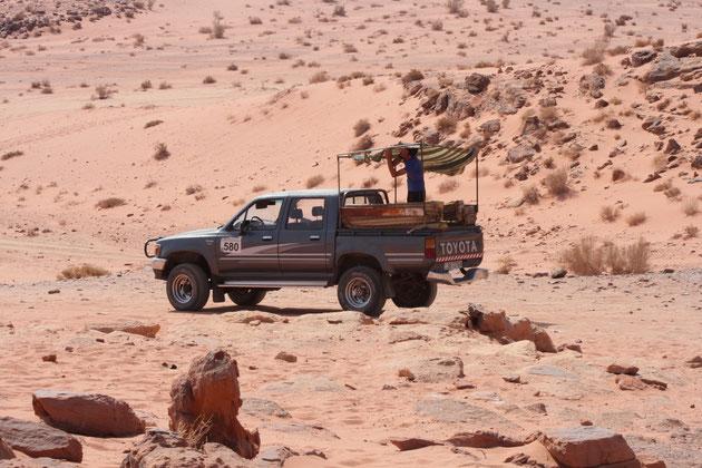 Unser Wüstenjeep.
