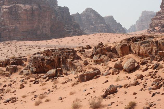 Wadi Rum ff.