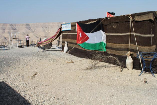 Imbißzelt auf jordanisch