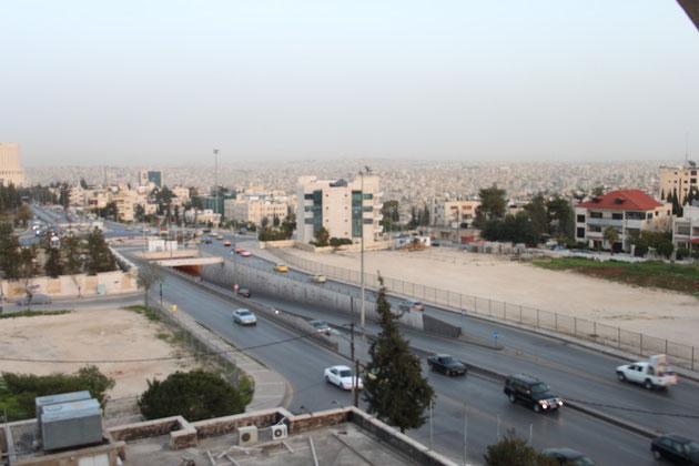 Blick auf Amman.