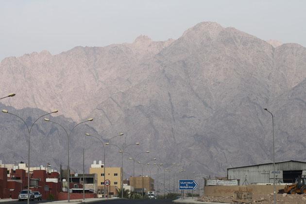 Das Hinterland von Aqaba.