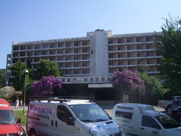 Hotel in Srebreno.