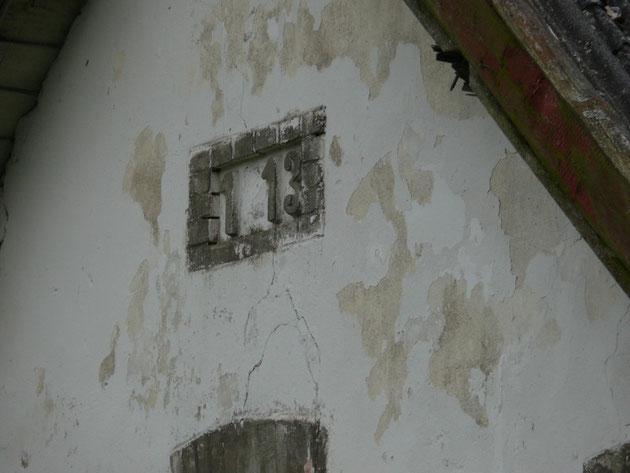 Das Haus wurde 1913 erbaut,ob von unseren Grosseltern ist nicht bekannt.
